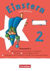 Einstern - Mathematik - Ausgabe 2021 - Band 2 Leicht gemacht - Themenheft 3 - Verbrauchsmaterial - Bd.2