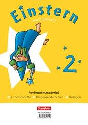 Einstern - Mathematik - Ausgabe 2021 - Band 2 Leicht gemacht - Themenhefte 1-4, Diagnoseheft und Kartonbeilagen im Paket - Bd.2