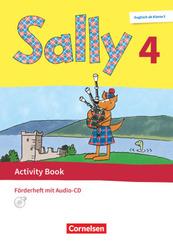 Sally - Englisch ab Klasse 3 - Allgemeine Ausgabe 2020 - 4. Schuljahr Activity Book: Förderheft - Mit Audio-CD und Portf
