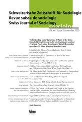 Schweizerische Zeitschrift für Soziologie