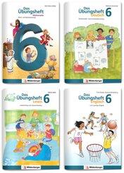 Sicher ins 7. Schuljahr - Sparpaket: Rechnen - Schreiben - Lesen - Grammatik - Englisch · Klasse 6, 4 Teile