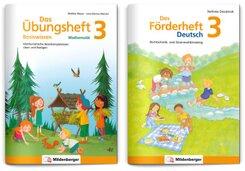 Sicher ins 4. Schuljahr - Sparpaket: Förderprogramm Rechnen - Schreiben - Grammatik · Klasse 3, 2 Teile