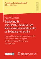 Entwicklung der professionellen Kompetenz von Mathematiklehramtsstudierenden zur Bedeutung von Sprache