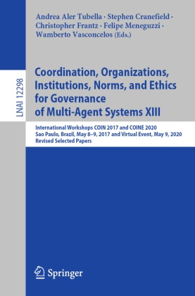 Coordination, Organizations, Institutions, Norms, and Ethics for Governance of Multi-Agent Systems XIII