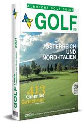 Golf Guide Österreich und Nord-Italien 2021