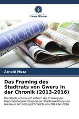 Das Framing des Stadtrats von Gweru in der Chronik (2013-2016)