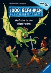 """1000 Gefahren junior - Aufruhr in der Ritterburg (Erstlesebuch mit """"Entscheide selbst""""-Prinzip für Kinder ab 7 Jahren)"""
