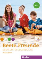 Beste Freunde - Deutsch für Jugendliche: Arbeitsbuch A1/1 und A1/2, 2 Bde. m. 2 Audiio-CDs