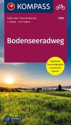 Fahrrad-Tourenkarte Bodenseeradweg