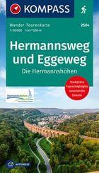 Hermannsweg und Eggeweg, Die Hermannshöhen
