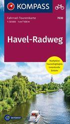 Fahrrad-Tourenkarte Havel-Radweg