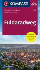 Fahrrad-Tourenkarte Fuldaradweg