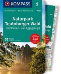 KOMPASS Wanderführer Naturpark Teutoburger Wald mit Wiehen- und Eggegebirge