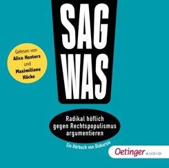 Sag was!, 1 Audio-CD