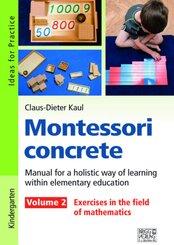 Montessori concrete - Volume 2