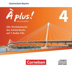 À plus ! - Nouvelle édition - Bayern - Band 4 Audio-CDs - Bd.4