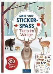 Mein Foto-Stickerspaß - Tiere im Winter
