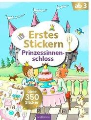Erstes Stickern Prinzessinnenschloss