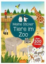 Meine Sticker - Tiere im Zoo