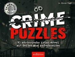 Crime Puzzles. 30 mörderische Krimirätsel mit Seiten zum Aufschneiden