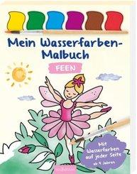 Mein Wasserfarben-Malbuch Feen