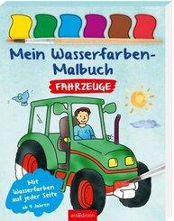 Mein Wasserfarben-Malbuch Fahrzeuge