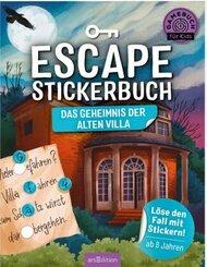 Escape-Stickerbuch - Das Geheimnis der alten Villa