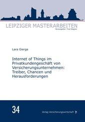 Internet of Things im Privatkundengeschäft von Versicherungsunternehmen