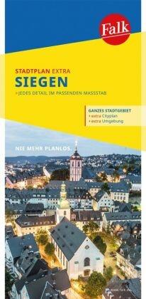 Falk Stadtplan Extra Standardfaltung Siegen 1:17 000