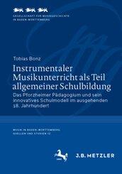 Instrumentaler Musikunterricht als Teil allgemeiner Schulbildung