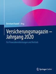 Versicherungsmagazin - Jahrgang 2020