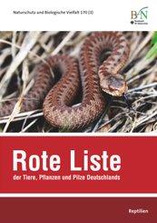 Rote Liste der Tiere, Pflanzen und Pilze Deutschlands - Reptilien