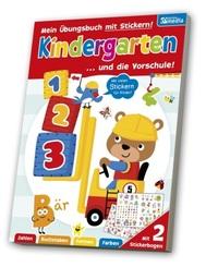 XXL Übungsbuch - Übungsbuch für den Kindergarten / Vorschule