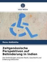 Zeitgenössische Perspektiven auf Behinderung in Indien