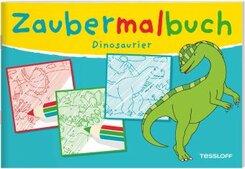 Zaubermalbuch. Dinosaurier