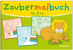 Zaubermalbuch. Im Zoo