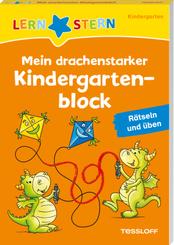 LERNSTERN. Mein drachenstarker Kindergartenblock. Rätseln und üben