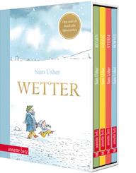 Wetter - Vier Bilderbücher in einem hochwertigen Schuber