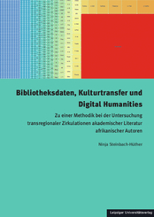 Bibliotheksdaten, Kulturtransfer und Digital Humanities