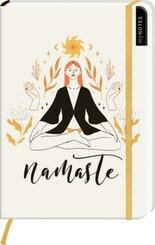 myNOTES Notizbuch A5: Namaste