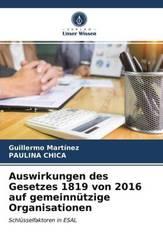 Auswirkungen des Gesetzes 1819 von 2016 auf gemeinnützige Organisationen