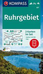 KOMPASS Wanderkarte Ruhrgebiet
