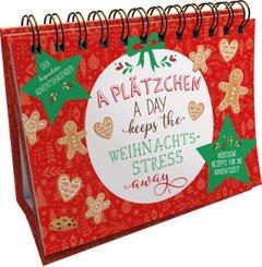 A Plätzchen a day keeps the Weihnachtsstress away. Der besondere Adventskalender