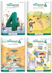 Sicher ins 5. Schuljahr - Sparpaket: Rechnen - Schreiben - Lesen - Grammatik - Englisch · Klasse 4, 4 Teile