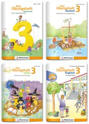 Sicher ins 4. Schuljahr - Sparpaket: Rechnen - Schreiben - Lesen - Grammatik - Englisch · Klasse 3, 4 Teile