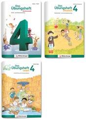 Sicher ins 5. Schuljahr - Sparpaket: Rechnen - Schreiben - Lesen - Grammatik · Klasse 4, 3 Teile