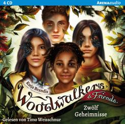 Woodwalkers & Friends (2). Zwölf Geheimnisse, 4 Audio-CD