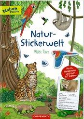 Natur-Stickerwelt - Wilde Tiere