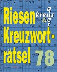 Riesen-Kreuzworträtsel 78