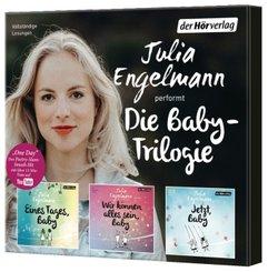 Die Baby-Trilogie, 3 Audio-CD
